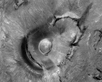 Roden Crater Satellite Image