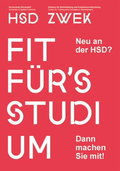 Fit für's Studium Flyer
