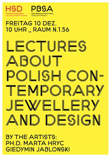 Polish Contemporary Jewellery and Design poster